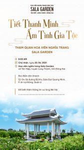 Sala Garden - Kế hoạch chương trình event dịp Thanh Minh 2021